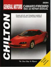 1993 2002 chevrolet camaro   pontiac firebird chilton s Manual Car Maintenance Manual