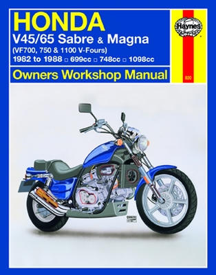 Honda four cylinder motorcycle repair service manuals 0820g fandeluxe Choice Image