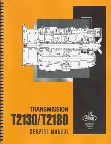 Mack E5 2-Valve Head Diesel Engine Repair Service Overhaul Rebuild Manual 5103