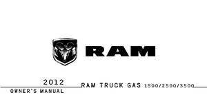2012 Dodge Ram Truck 1500 2500 3500 Owner S Manual border=