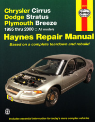 1995 2000 chrysler cirrus stratus breeze haynes repair. Black Bedroom Furniture Sets. Home Design Ideas