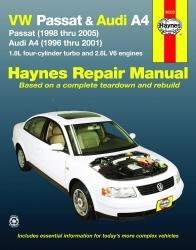 1996 2005 volkswagen passat audi a4 haynes repair manual. Black Bedroom Furniture Sets. Home Design Ideas