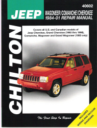 1984 2001 jeep wagoneer  comanche   cherokee chilton s Transit Manuals Bus Speciufication M1aintenance Maintenance Manual