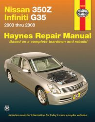 infiniti g35 haynes repair manual pdf