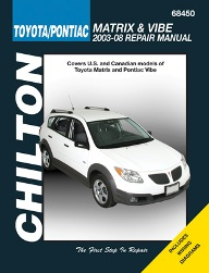 2003 2008 toyota matrix pontiac vibe chilton 39 s total. Black Bedroom Furniture Sets. Home Design Ideas