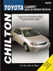 2002 2006 toyota camry chilton 39 s total car care manual. Black Bedroom Furniture Sets. Home Design Ideas