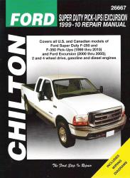 1999 2010 ford super duty pick ups  excursion  chilton s Small Engine Rebuild Manuals Service Manuals