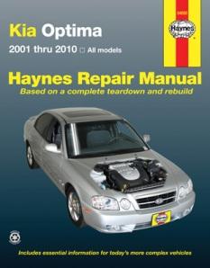 2004 kia optima repair manual pdf