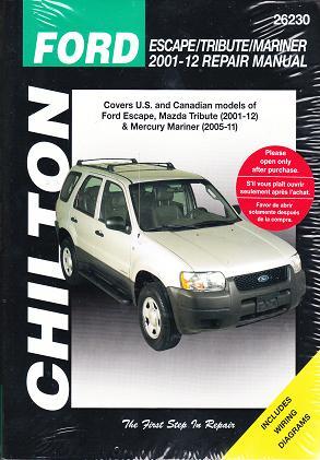 2012 Ford Escape Service Manual