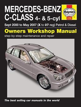 Haynes C Class Service