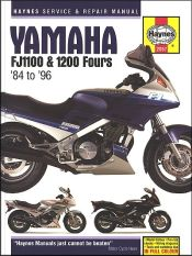 1984 1996 yamaha fj1100 fj1200 haynes owners workshop. Black Bedroom Furniture Sets. Home Design Ideas