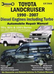 toyota land cruiser 200 series service repair manual
