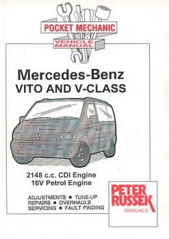 2000 2003 mercedes vito and v class 2148c c cdi diesel 16v gas engine russek repair