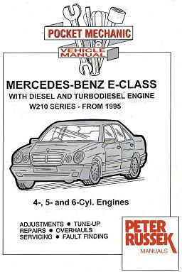 1995 2000 mercedes benz e class w210 series with 4 5 for Mercedes benz 5 cylinder diesel engine