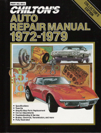 1972 1979 chilton s auto repair manual Service Manuals Service Manuals