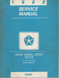 Pdf truck service manual free 28 pages freightliner service truck service manual free 1988 chrysler rear wheel drive truck service manual d w 150 350 ramcharger fandeluxe Images