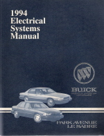 1994 buick park avenue lesabre electrical systems manual