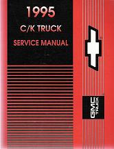 Cadillac Chevrolet & GMC Pick-ups, Suburban, Jimmy, Blazer Factory Service Repair Manuals