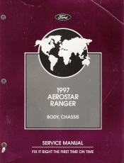 ford aerostarranger service manual  volume set