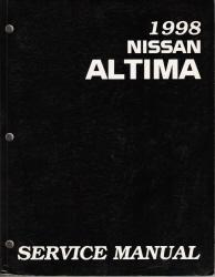 1998 nissan altima factory service manual. Black Bedroom Furniture Sets. Home Design Ideas