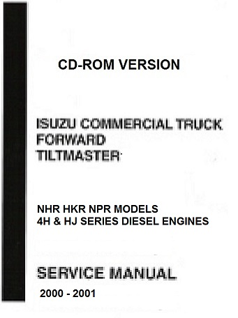 2000 2001 isuzu nkr npr nhr diesel truck forward. Black Bedroom Furniture Sets. Home Design Ideas
