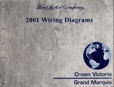 2001 Ford Crown Victoria & Mercury Grand Marquis Wiring ...