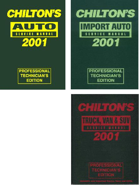 Chilton Auto Repair Auto Parts Diagrams