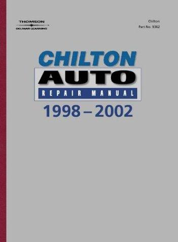 Complete Auto Racing School on 1998   2002 Chilton S Auto Repair Manual