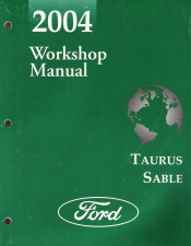 2004 ford taurus mercury sable workshop manual. Black Bedroom Furniture Sets. Home Design Ideas