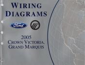 2005 ford crown victoria, mercury grand marquis- wiring ... 2005 ford crown victoria wiring diagram