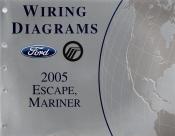 2005 ford escape mercury mariner wiring diagrams. Black Bedroom Furniture Sets. Home Design Ideas