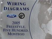2005 ford freestyle wiring diagrams 2005 ford freestyle, ford five hundred & mercury montego ...
