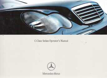 2004 mercedes benz c class sedan owner 39 s manual for Mercedes benz service number