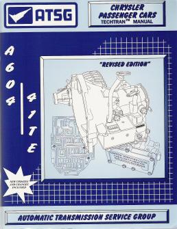 Free Check Engine Light Diagnosis >> Chrysler A604 (41TE) Transaxle ATSG Rebuild Manual - Softcover