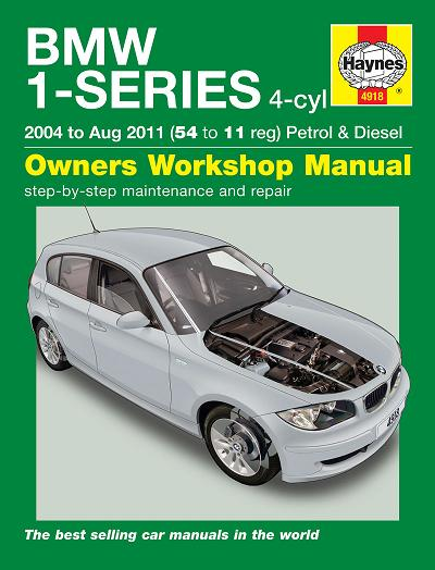 Bmw 1 Series E87 Owners Manual