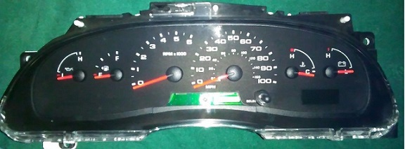 2004 - 2008 Ford E150 E250 E350, Econoline Van Instrument