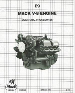 mack e9 v 8 (998) engine factory overhaul procedures manual Honda Engine Parts Diagram auto repair manuals cds