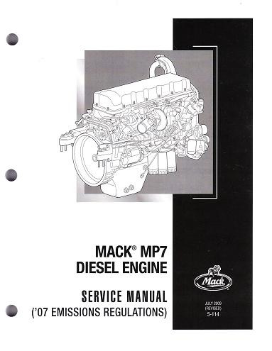 mack mp7 diesel engine service manual  auto-repair-manuals.com
