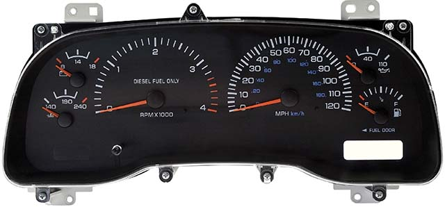 1999 Dodge Ram 2500 & 3500 Diesel Instrument Cluster Repair