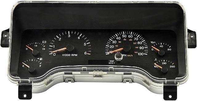 1998 Jeep Cherokee Instrument Cluster Repair