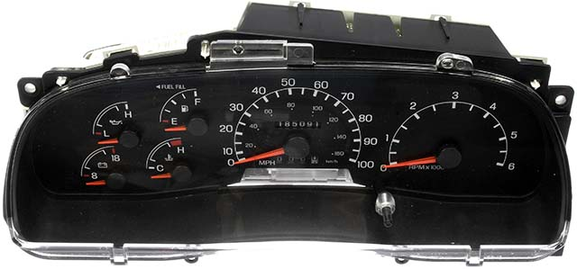 on ford f550 instrument cluster gauges