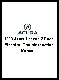 Acura on 1990 Acura Legend 2 Door Electrical Troubleshooting Manual