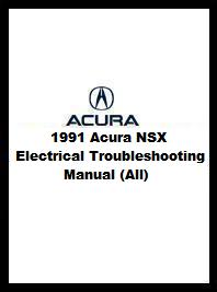1991 Acura NSX Electrical Troubleshooting Manual on jet ski schematics