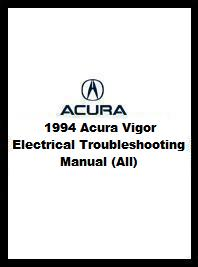 1994 acura vigor electrical troubleshooting manual all. Black Bedroom Furniture Sets. Home Design Ideas