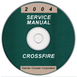 2004 chrysler crossfire zh service manual cd rom. Black Bedroom Furniture Sets. Home Design Ideas