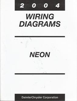 2004 Chrysler Dodge Plymouth Neon SRT 4 Wiring Diagrams