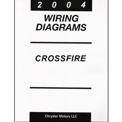Chrysler 2004 Crossfire ZH Body Factory Wiring Diagrams on automotive lift wiring diagram