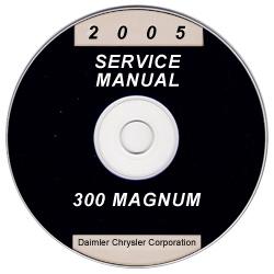 2005 chrysler 300 dodge magnum service manual cd rom. Black Bedroom Furniture Sets. Home Design Ideas