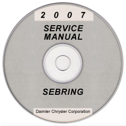 2007 chrysler sebring js service manual on cd xml svg. Black Bedroom Furniture Sets. Home Design Ideas