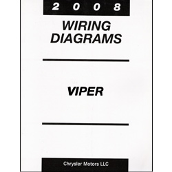 2008 dodge viper zb factory wiring diagram manual. Black Bedroom Furniture Sets. Home Design Ideas
